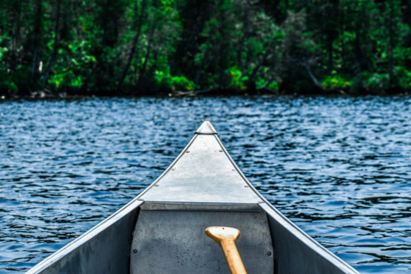 Canva - Gray Boat on Body of Water